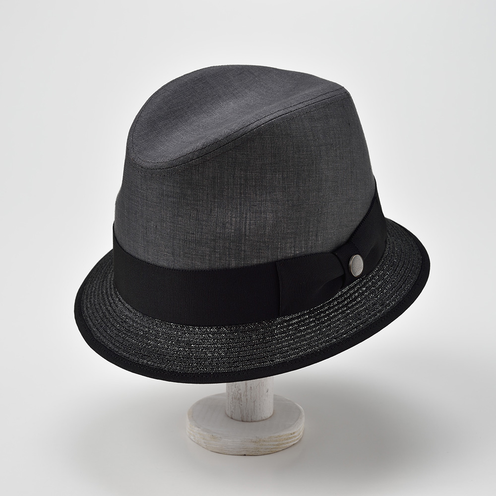 BRAID COMBI HAT SE442  Charcoal(ブレードコンビ ハット SE442)